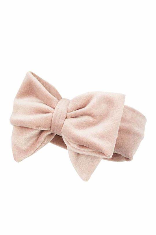 pastelowy różowy Jamiks - Opaska dziecięca Tiffa Dziewczęcy