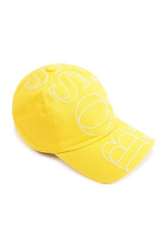 żółty Boss - Czapka dziecięca Dziecięcy