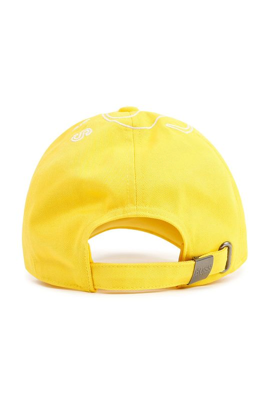 Boss - Czapka dziecięca żółty