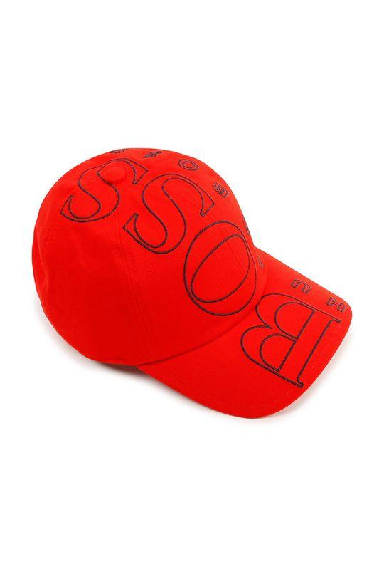 červená Boss - Dětska čepice Dětský