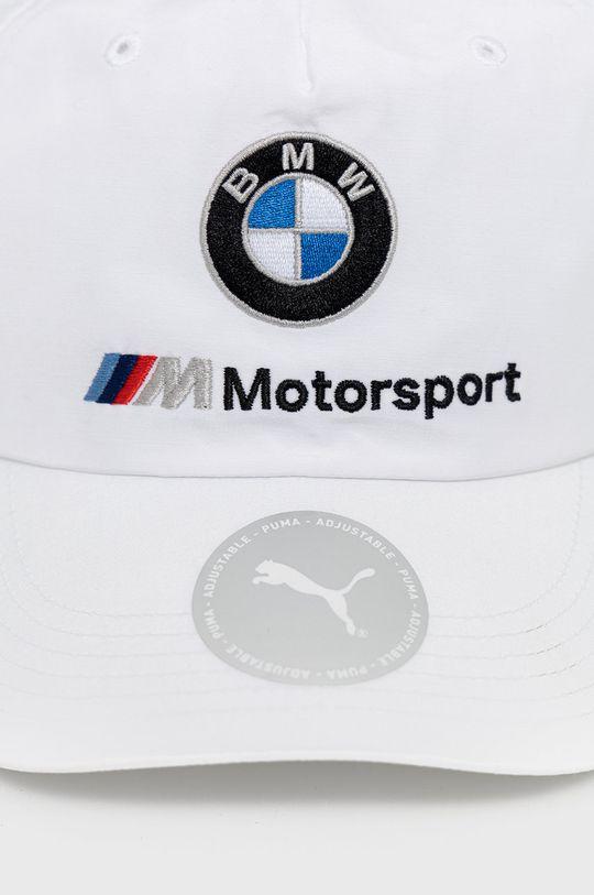 Puma - Czapka x BMW Materiał zasadniczy: 55 % Bawełna, 45 % Nylon, Materiał 1: 100 % Bawełna, Materiał 2: 100 % Nylon