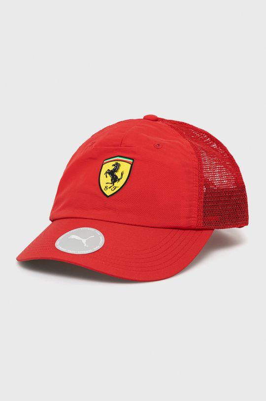 ostry czerwony Puma - Czapka x Ferrari Męski