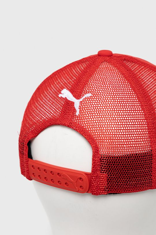 Puma - Czapka x Ferrari Materiał 1: 100 % Poliester, Materiał 2: 100 % Nylon