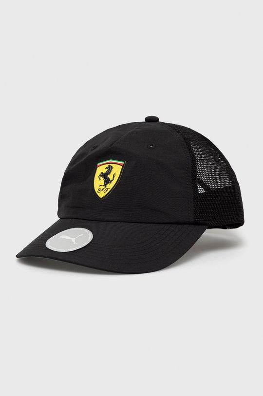 czarny Puma - Czapka x Ferrari Męski