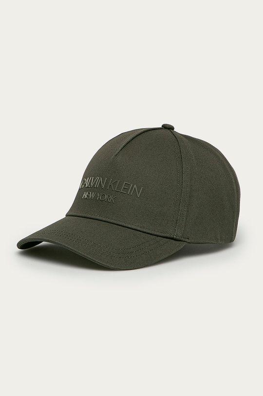 zielony Calvin Klein - Czapka Męski