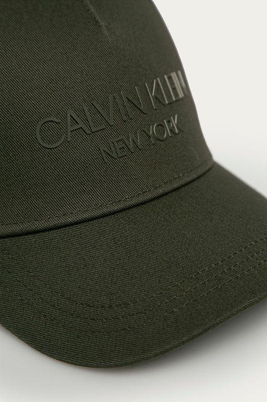 Calvin Klein - Czapka zielony