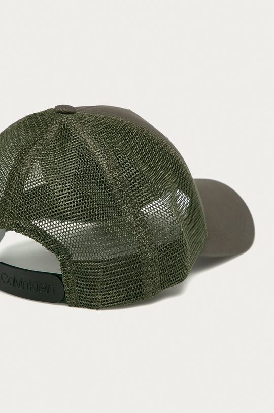 Calvin Klein - Čepice olivová
