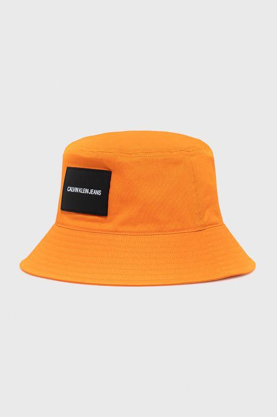 pomarańczowy Calvin Klein Jeans - Kapelusz Męski
