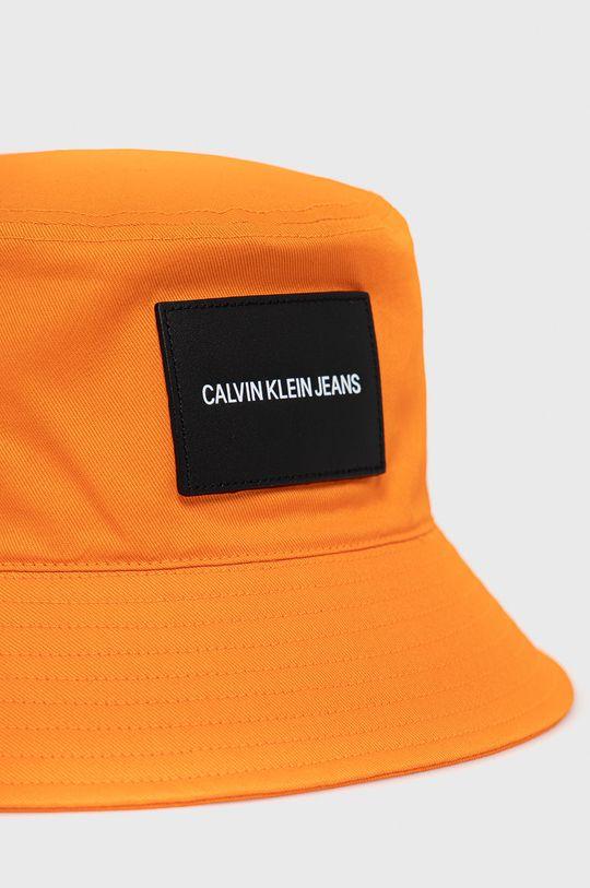 Calvin Klein Jeans - Kapelusz pomarańczowy