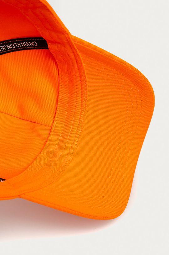 oranžová Calvin Klein Jeans - Čepice