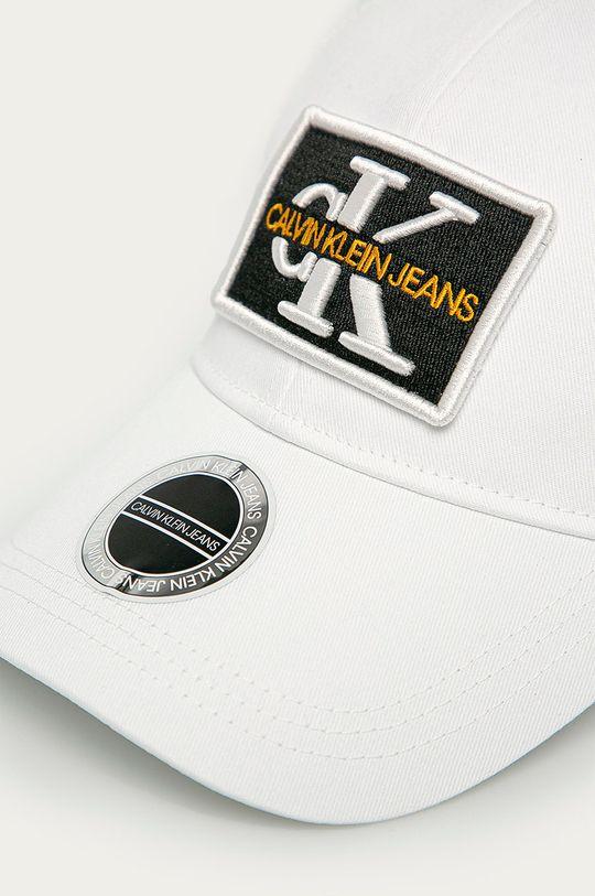 Calvin Klein Jeans - Čiapka biela
