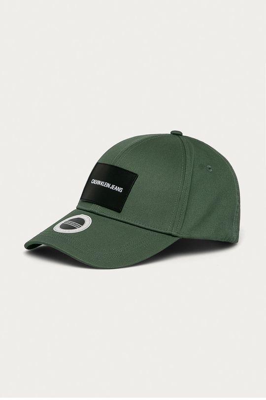 zielony Calvin Klein Jeans - Czapka Męski