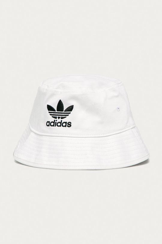biela adidas Originals - Klobúk Pánsky