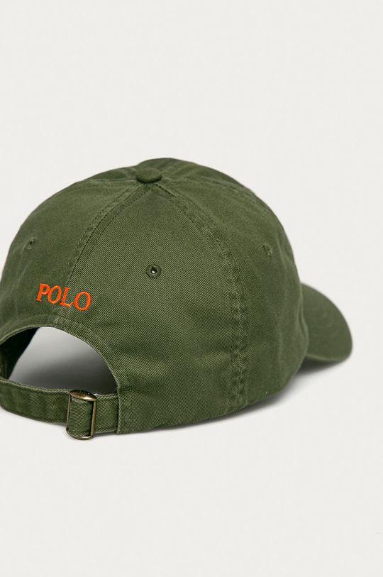 Polo Ralph Lauren - Čepice olivová