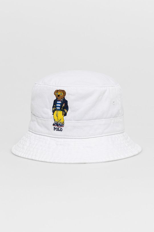 biały Polo Ralph Lauren - Kapelusz Męski