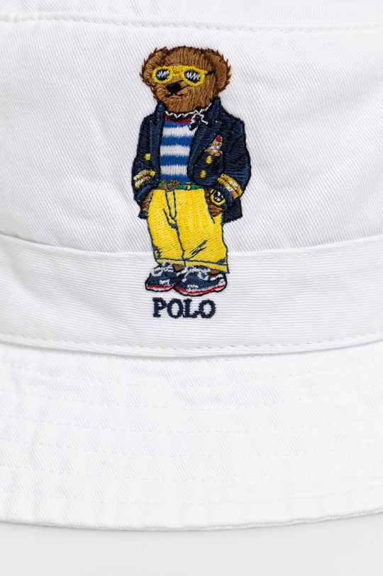 Polo Ralph Lauren - Kapelusz biały