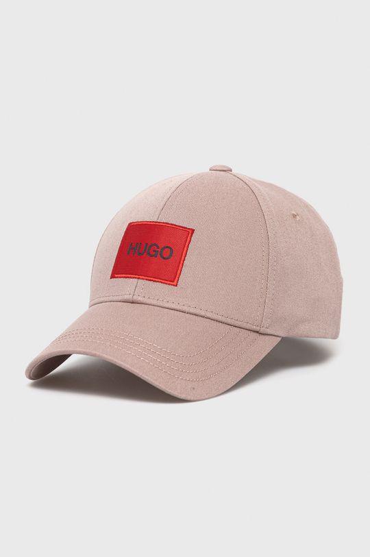pastelowy różowy HUGO - Czapka/kapelusz 50449455 Męski