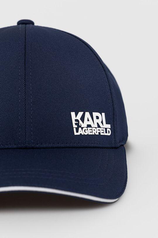 Karl Lagerfeld - Czapka granatowy