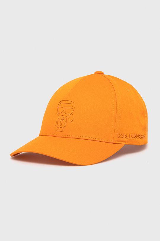 pomarańczowy Karl Lagerfeld - Czapka Męski