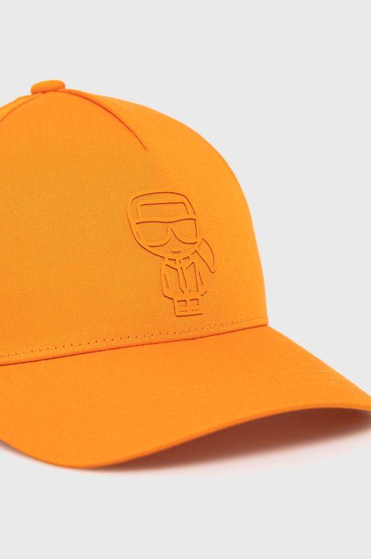 Karl Lagerfeld - Czapka Podszewka: 100 % Bawełna, Materiał zasadniczy: 60 % Bawełna, 40 % Poliester