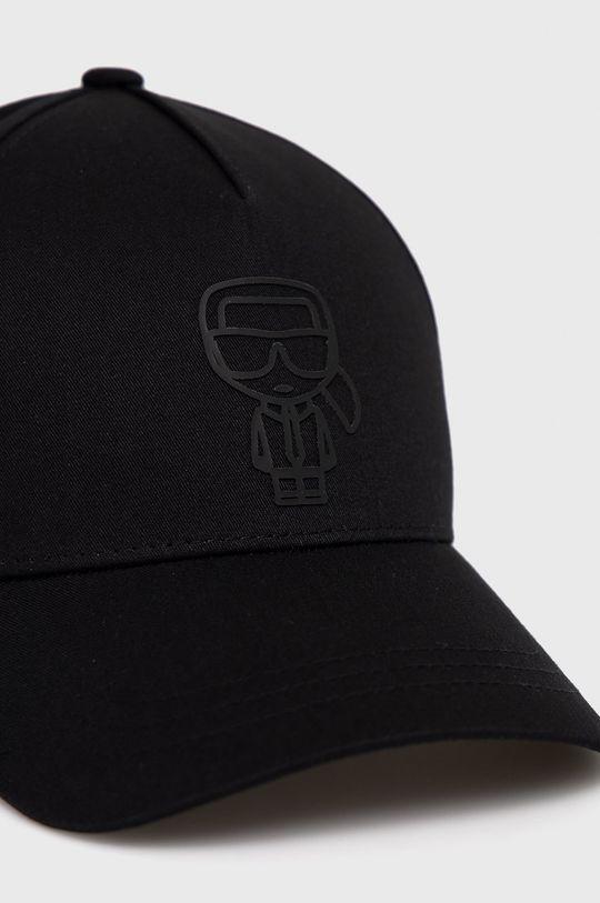 Karl Lagerfeld - Čiapka  Podšívka: 100% Bavlna Základná látka: 60% Bavlna, 40% Polyester