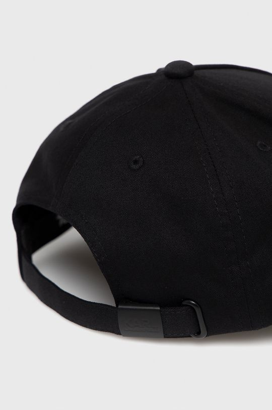 Karl Lagerfeld - Čepice  Materiál č. 1: 60% Bavlna, 40% Polyester Materiál č. 2: 100% Bavlna