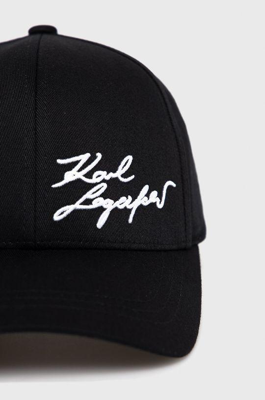 Karl Lagerfeld - Czapka Podszewka: 100 % Bawełna, Materiał zasadniczy: 98 % Bawełna, 2 % Elastan
