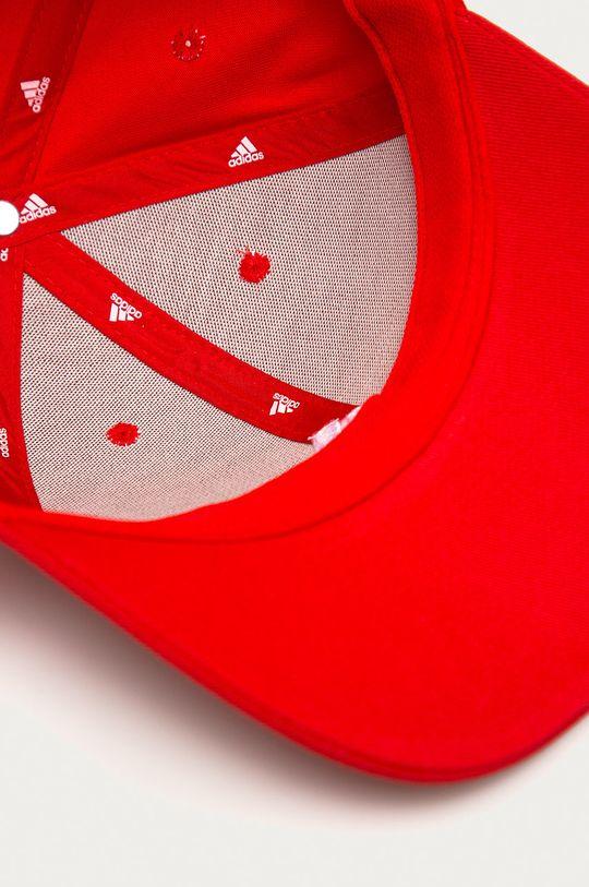 czerwony adidas Performance - Czapka