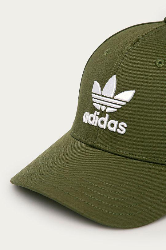 adidas Originals - Čepice tlumená zelená