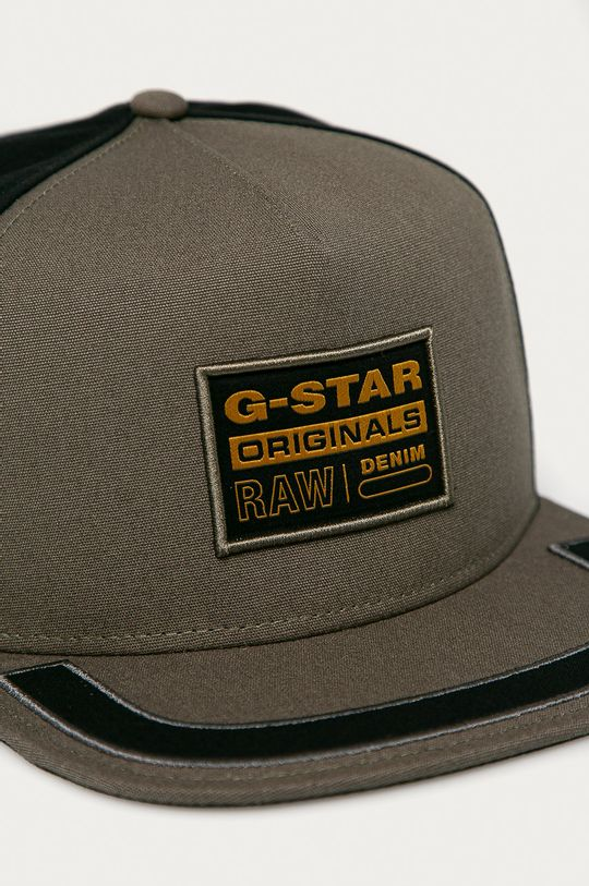 G-Star Raw - Čiapka svetlá olivová