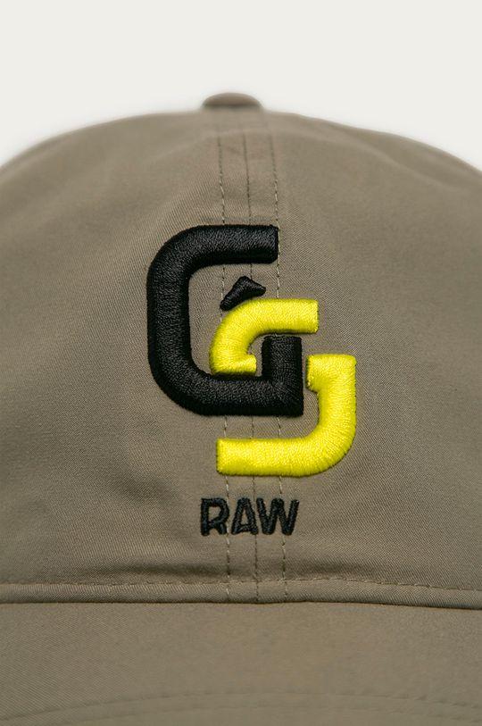 G-Star Raw - Czapka jasny oliwkowy