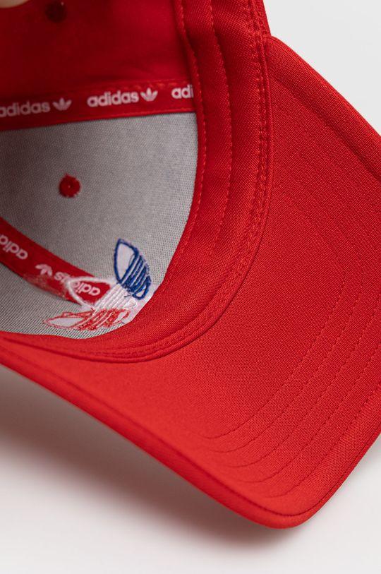 czerwony adidas Originals - Czapka