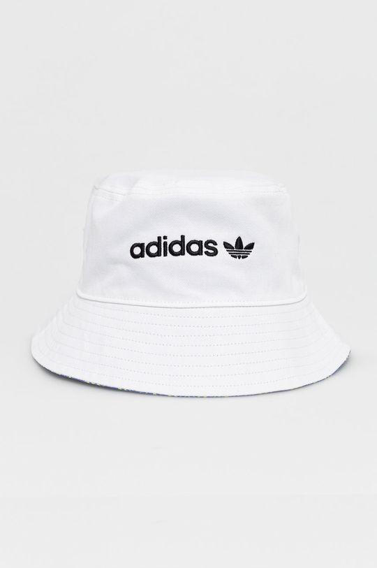 biały adidas Originals - Kapelusz Męski