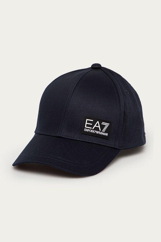 tmavomodrá EA7 Emporio Armani - Čiapka Pánsky
