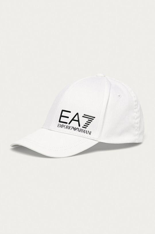 bílá EA7 Emporio Armani - Čepice Pánský