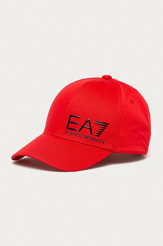 červená EA7 Emporio Armani - Čiapka Pánsky