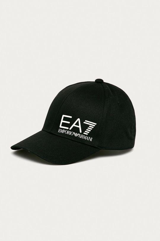 čierna EA7 Emporio Armani - Čiapka Pánsky