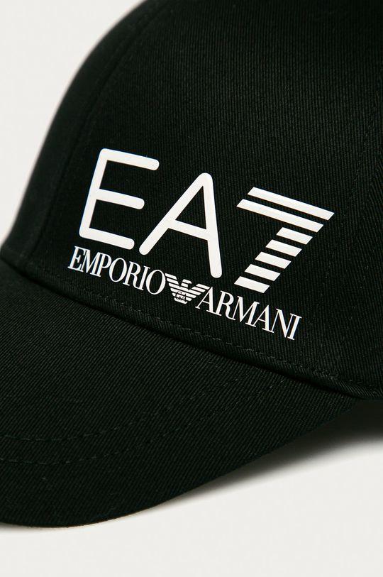 EA7 Emporio Armani - Čiapka čierna