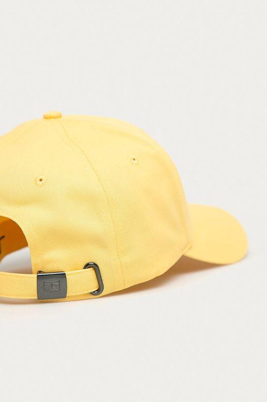 Tommy Hilfiger - Czapka jasny żółty