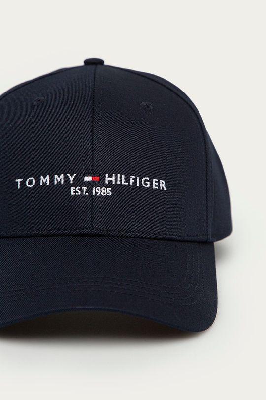 Tommy Hilfiger - Čiapka tmavomodrá