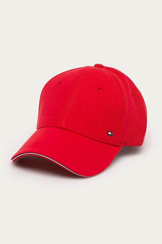 červená Tommy Hilfiger - Čepice Pánský