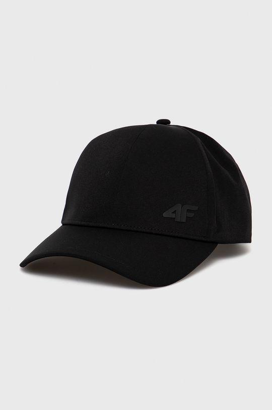 czarny 4F - Czapka Męski