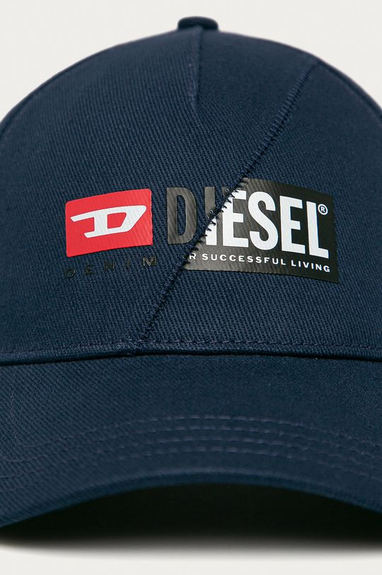 ocelová modrá Diesel - Čepice