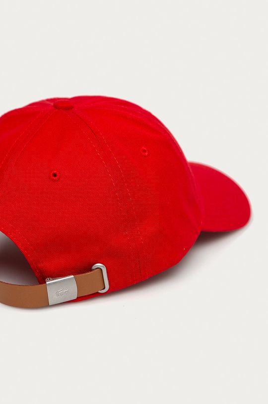 Lacoste - Czapka czerwony