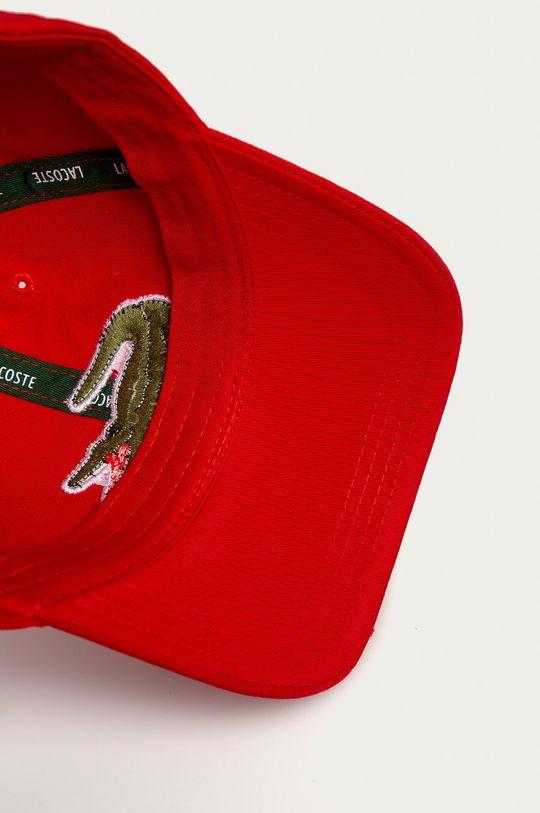 czerwony Lacoste - Czapka