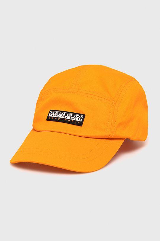 pomarańczowy Napapijri - Czapka Męski