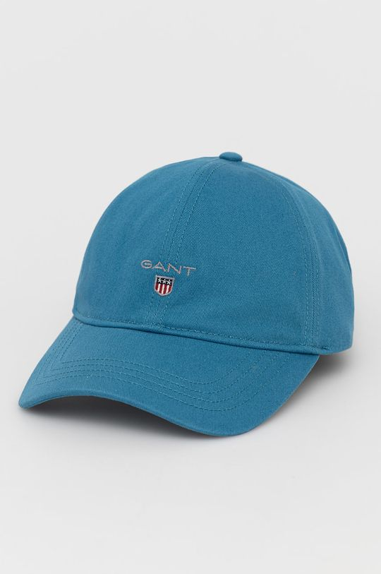 niebieski Gant - Czapka Męski