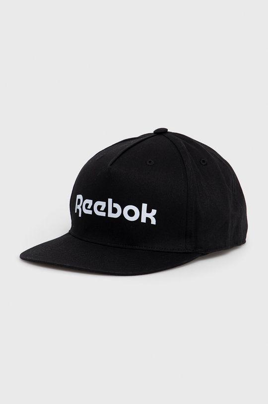 czarny Reebok - Czapka z daszkiem Męski