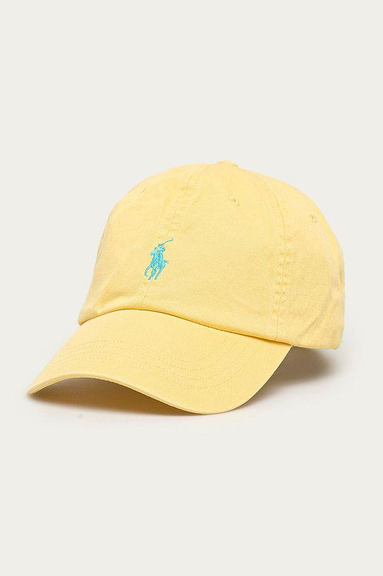 żółty Polo Ralph Lauren - Czapka Męski
