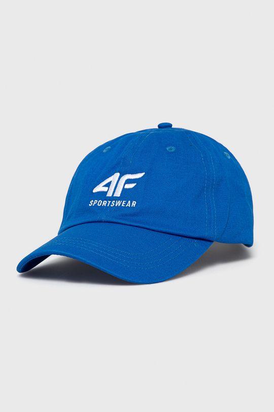 niebieski 4F - Czapka Męski